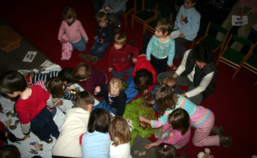 Kinderkirche – Der Weg Jesu ans Kreuz