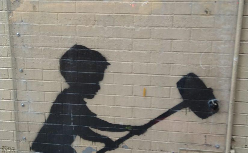 Ein echter Banksy